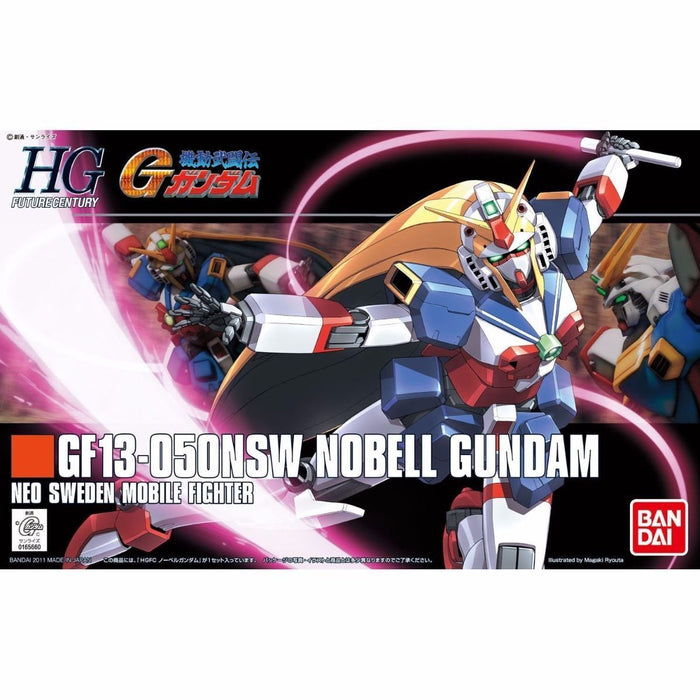 BANDAI HGFC 1/144 GF13-050NSW NOBEL GUNDAM Plastic Model Kit G Gundam from Japan_1