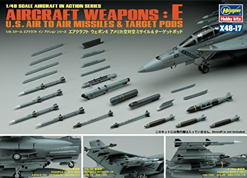 Hasegawa 1/48 U.S. Aircraft Weapons E Set Model Kit NEW from Japan_2