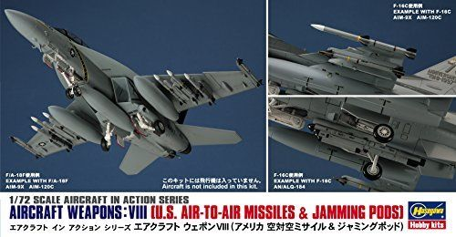 Hasegawa 1/72 U.S.Aircraft Weapons VIII Set Model Kit NEW from Japan_2