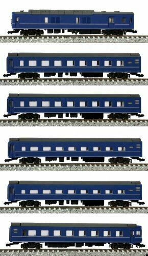 Z Scale J.N.R. Series24 Type25 Passenger Car (Basic 6-Car Set) NEW from Japan_1