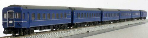 Z Scale J.N.R. Series24 Type25 Passenger Car (Basic 6-Car Set) NEW from Japan_5