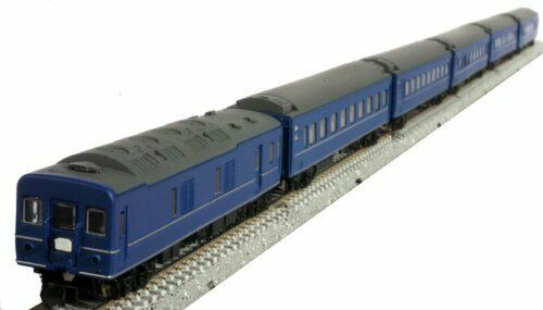 Z Scale J.N.R. Series24 Type25 Passenger Car (Basic 6-Car Set) NEW from Japan_6