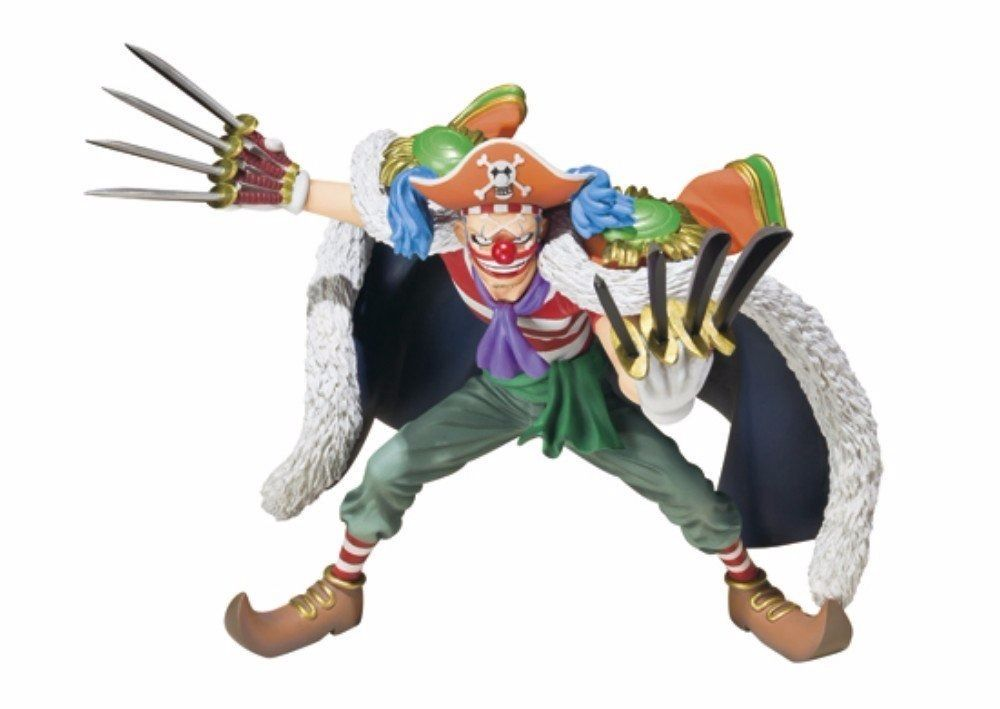 Figuarts ZERO One Piece BUGGY PVC Figure BANDAI TAMASHII NATIONS from Japan_1