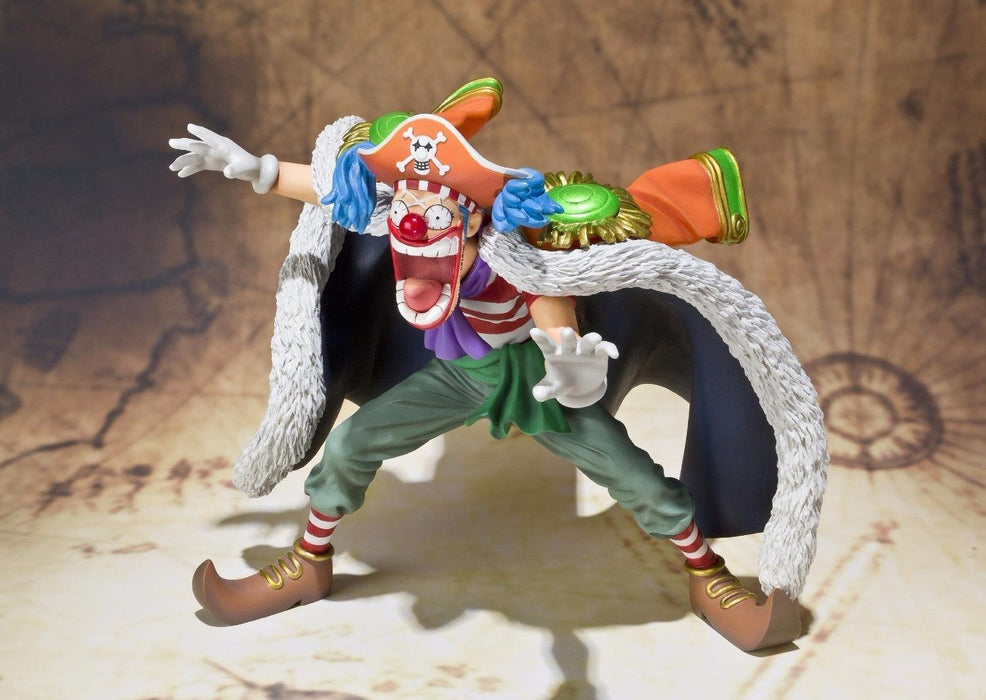 Figuarts ZERO One Piece BUGGY PVC Figure BANDAI TAMASHII NATIONS from Japan_3