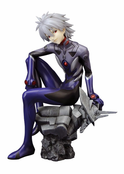 EVANGELION NAGISA KAWORU Plugsuit Ver 1/6 PVC Figure Kotobukiya NEW from Japan_1