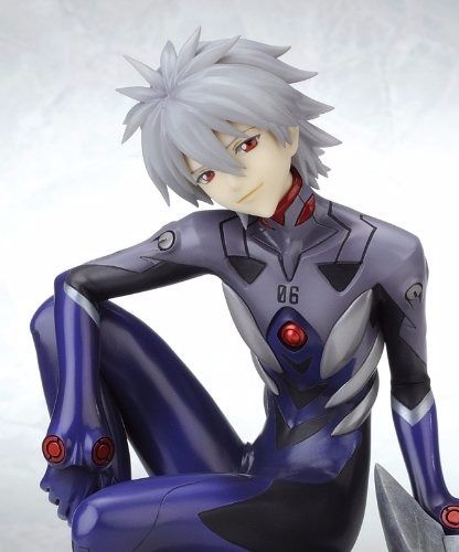 EVANGELION NAGISA KAWORU Plugsuit Ver 1/6 PVC Figure Kotobukiya NEW from Japan_2