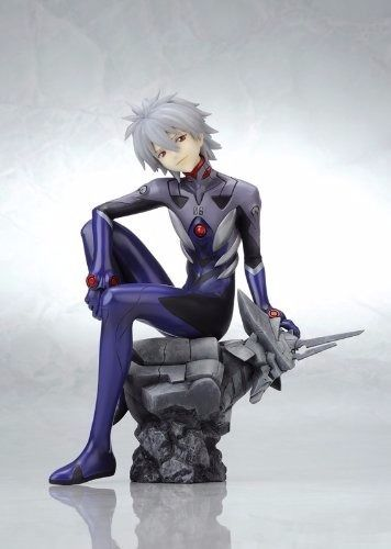 EVANGELION NAGISA KAWORU Plugsuit Ver 1/6 PVC Figure Kotobukiya NEW from Japan_3