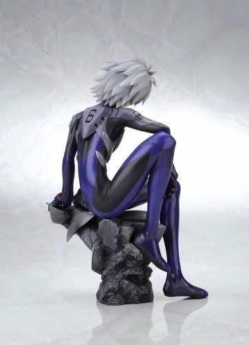 EVANGELION NAGISA KAWORU Plugsuit Ver 1/6 PVC Figure Kotobukiya NEW from Japan_4