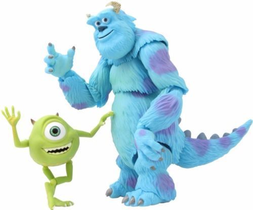 Tokusatsu Revoltech No.028 Monsters, Inc. SULLEY & MIKE Figure KAIYODO_1