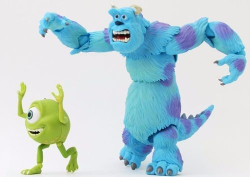 Tokusatsu Revoltech No.028 Monsters, Inc. SULLEY & MIKE Figure KAIYODO_2
