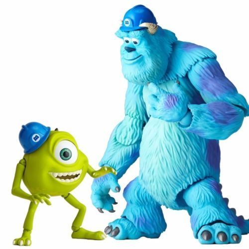 Tokusatsu Revoltech No.028 Monsters, Inc. SULLEY & MIKE Figure KAIYODO_3