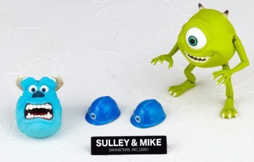 Tokusatsu Revoltech No.028 Monsters, Inc. SULLEY & MIKE Figure KAIYODO_4