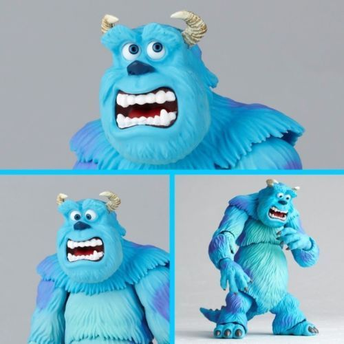 Tokusatsu Revoltech No.028 Monsters, Inc. SULLEY & MIKE Figure KAIYODO_6