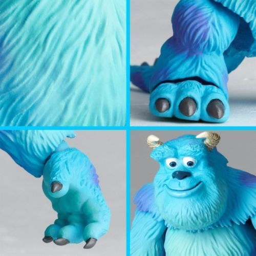 Tokusatsu Revoltech No.028 Monsters, Inc. SULLEY & MIKE Figure KAIYODO_8