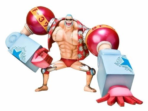 Figuarts ZERO One Piece FRANKY NEW WORLD Ver PVC Figure BANDAI from Japan_1