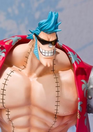 Figuarts ZERO One Piece FRANKY NEW WORLD Ver PVC Figure BANDAI from Japan_8