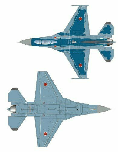 Platz 1/72 J.A.S.D.F. F-2A 6SQ 50th Anniversary Decal Plastic Model Kit NEW_2