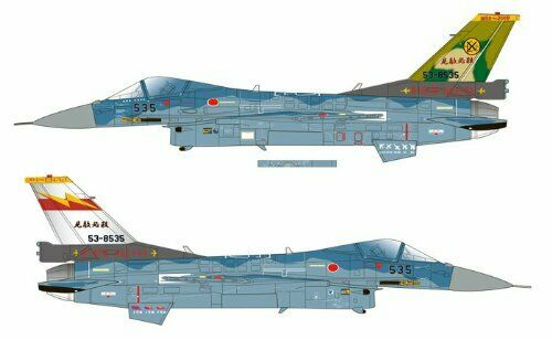 Platz 1/72 J.A.S.D.F. F-2A 6SQ 50th Anniversary Decal Plastic Model Kit NEW_3