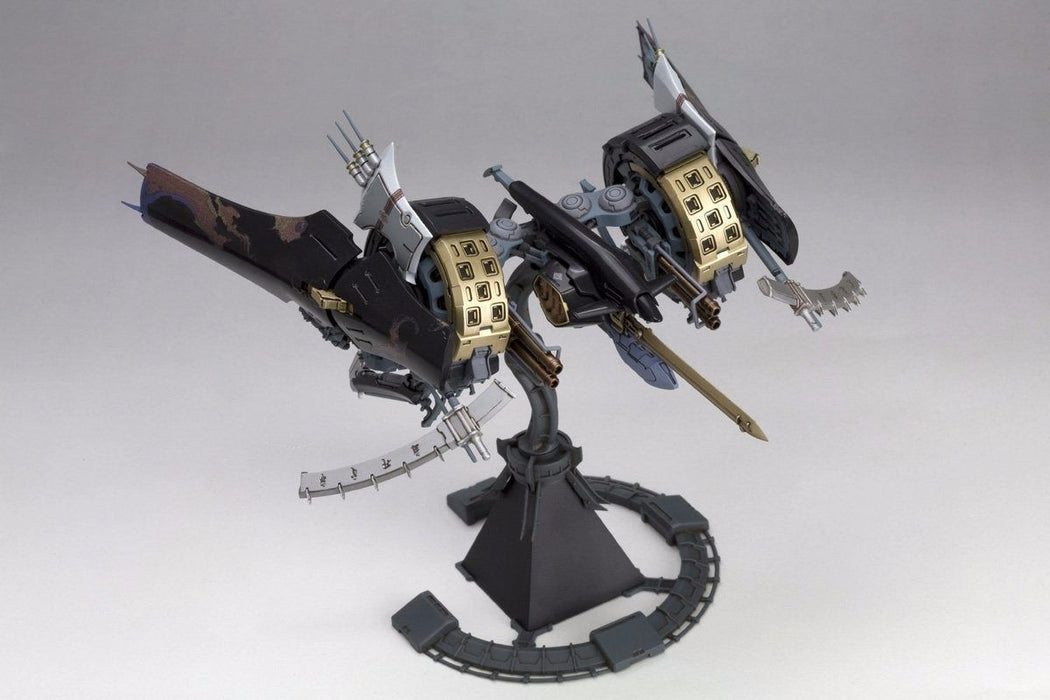 KOTOBUKIYA 1/144 HITEKKAI IKARUGA [BLACK] Plastic Model Kit NEW from Japan_5