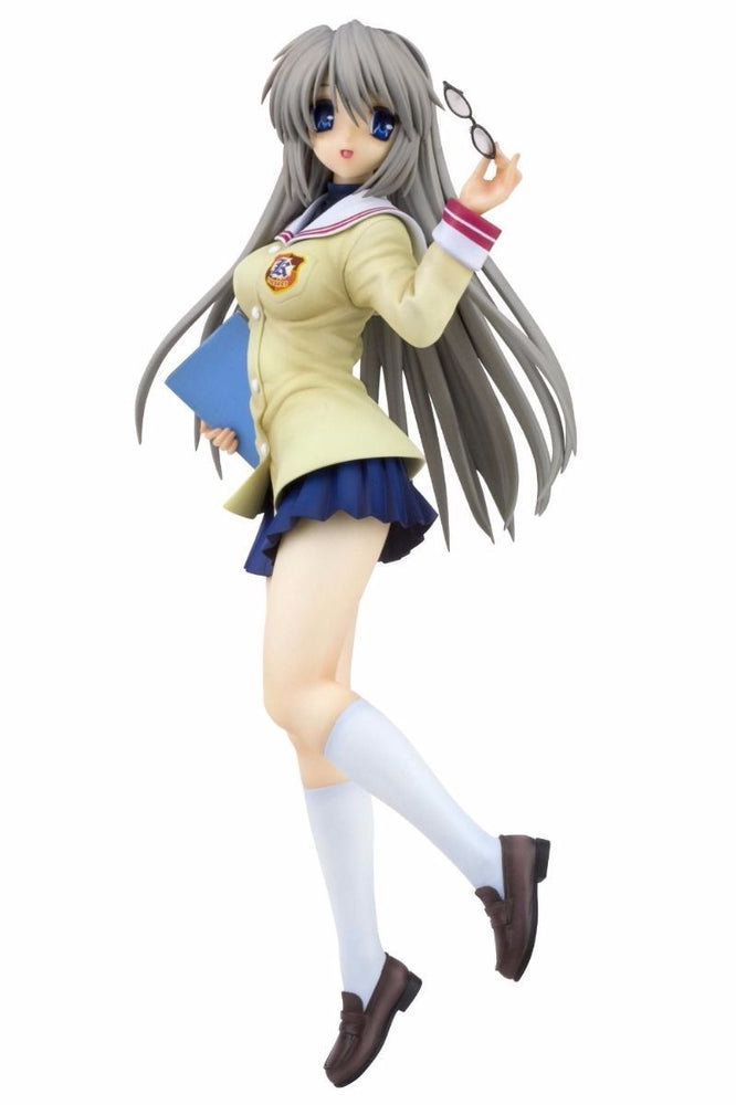 CLANNAD TOMOYO SAKAGAMI School Uniform 1/6 PVC Figure Kotobukiya NEW from Japan_1