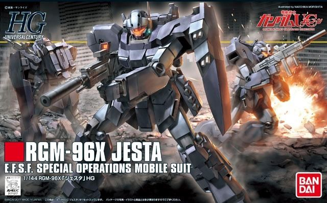 BANDAI HGUC 1/144 RGM-96X JESTA Plastic Model Kit Mobile Suit Gundam UC Japan_1