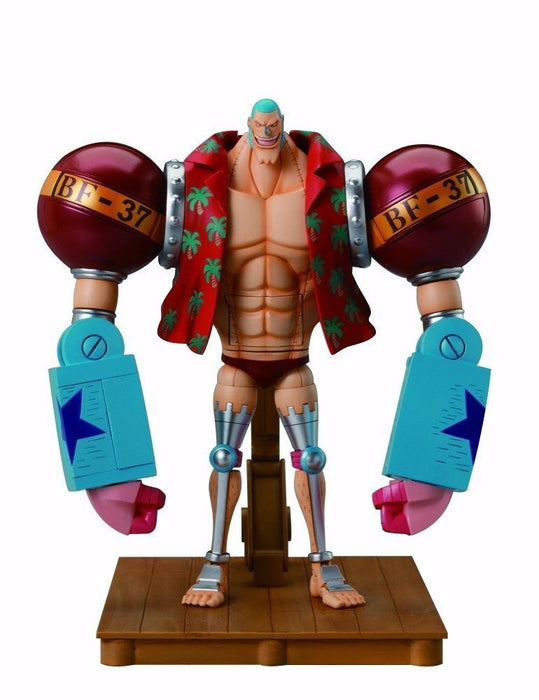 CHOGOKIN One Piece FRANKY Action Figure BANDAI TAMASHII NATIONS from Japan_1