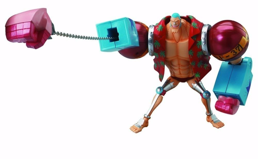 CHOGOKIN One Piece FRANKY Action Figure BANDAI TAMASHII NATIONS from Japan_3