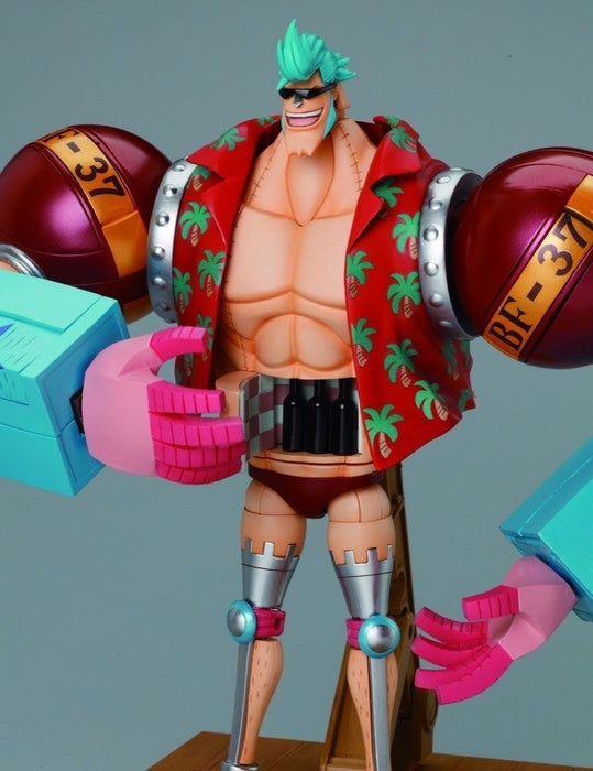 CHOGOKIN One Piece FRANKY Action Figure BANDAI TAMASHII NATIONS from Japan_5