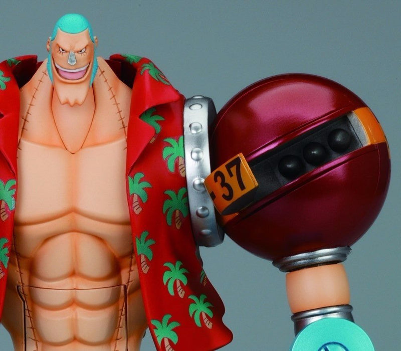 CHOGOKIN One Piece FRANKY Action Figure BANDAI TAMASHII NATIONS from Japan_6