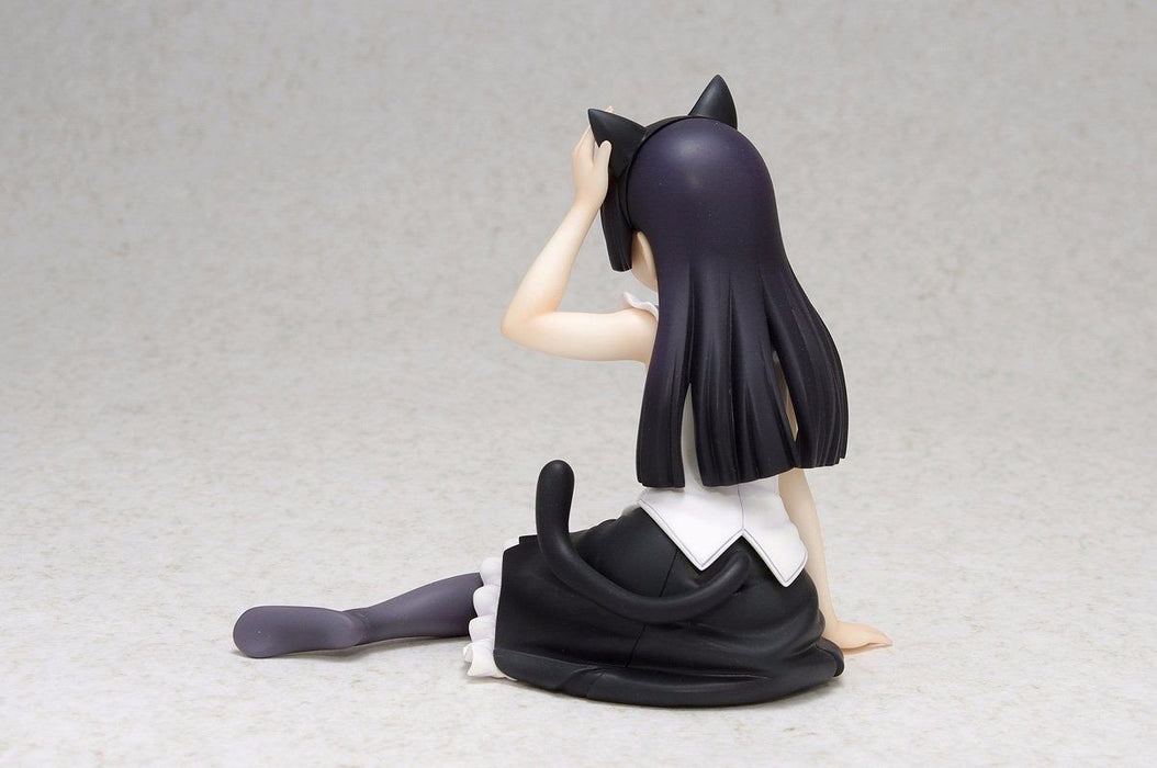 WAVE Dream Tech Oreimo Kuroneko (Ruri Goko) Sitting Ver. Figure NEW from Japan_3