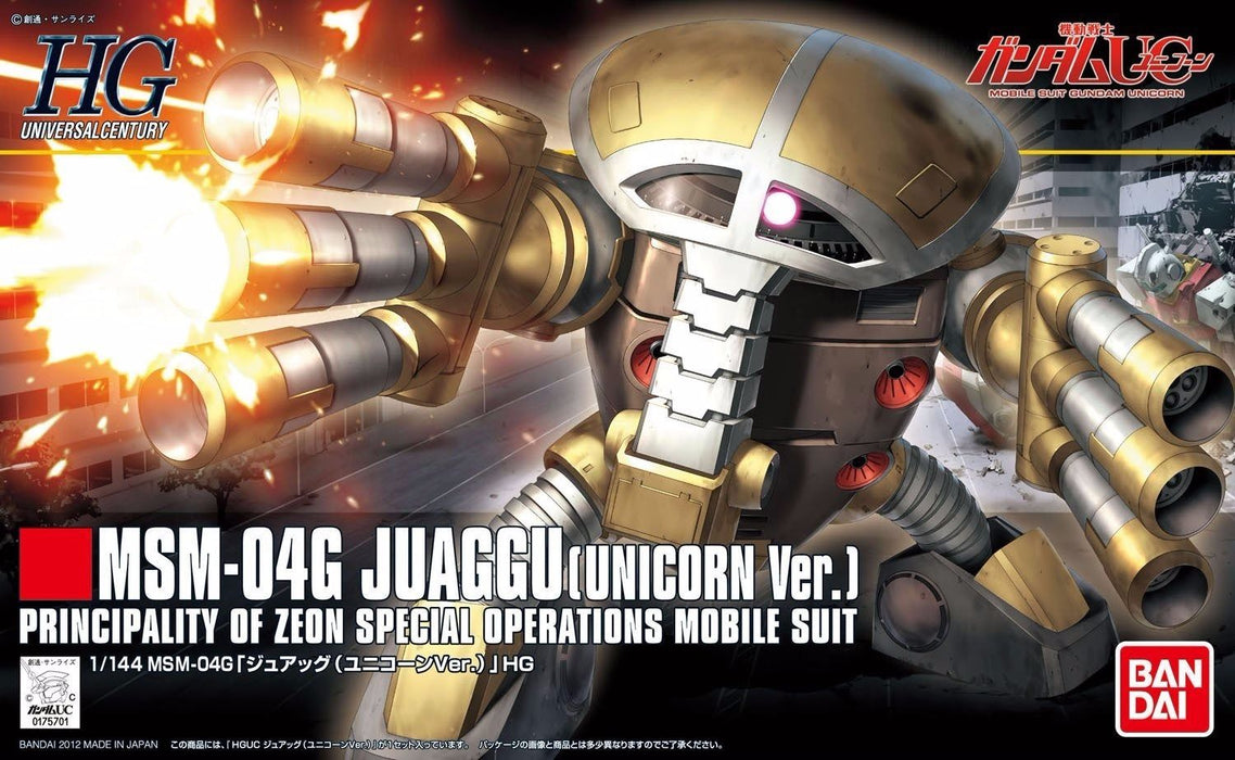 BANDAI HGUC 1/144 MSM-04G JUAGGU UNICORN Ver Plastic Model Kit Gundam UC Japan_1
