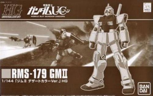 BANDAI HGUC 1/144 RMS-179 GM II DESERT COLOR Ver Plastic Model Kit Gundam UC_1