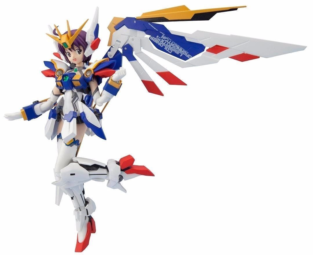 Armor Girls Project MS GIRL WING GUNDAM EW Action Figure BANDAI from Japan_1