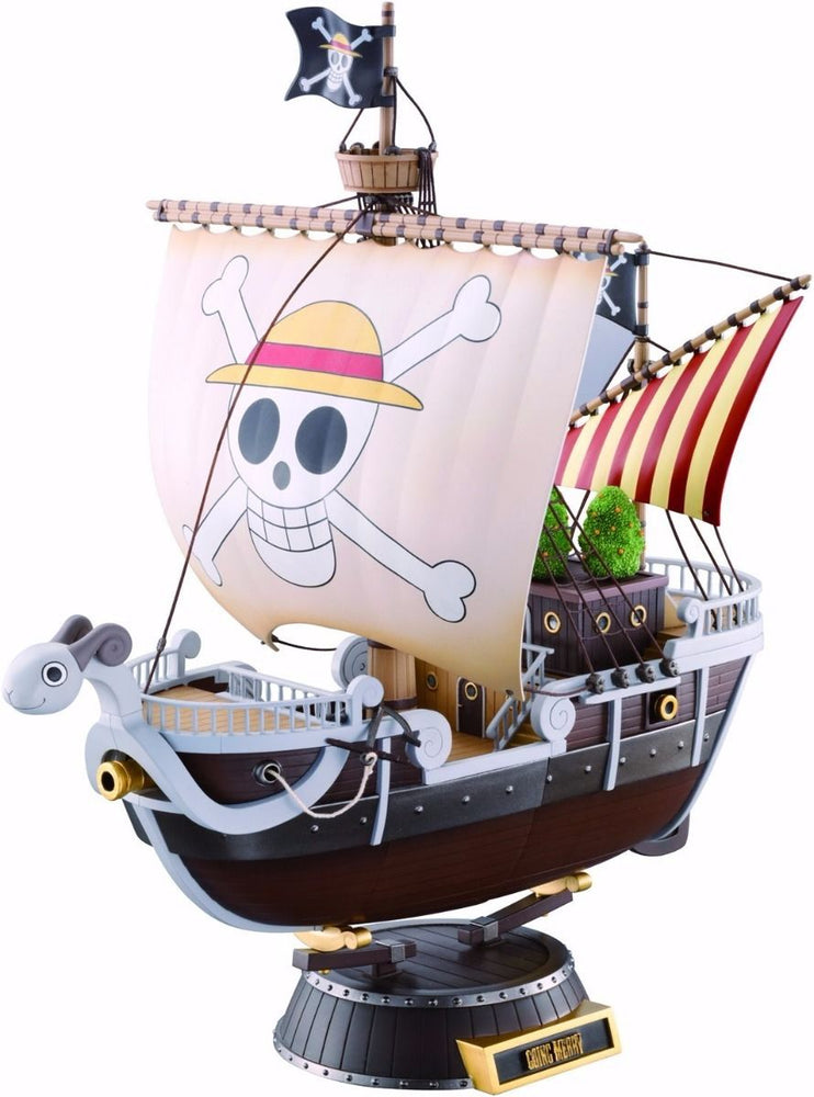 BANDAI CHOGOKIN ONE PIECE GOING MERRY Action Figure TAMASHII NATIONS from Japan_1