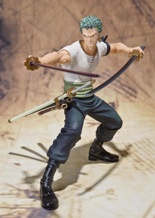 Figuarts ZERO One Piece RORONOA ZORO BATTLE Ver PVC Figure BANDAI from Japan_10