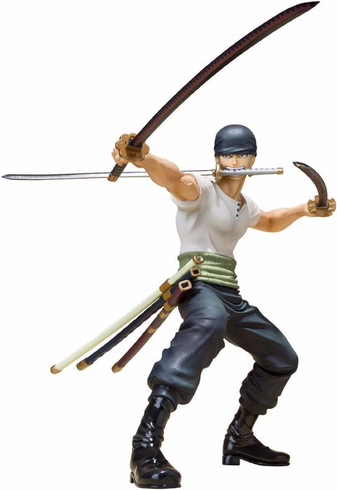 Figuarts ZERO One Piece RORONOA ZORO BATTLE Ver PVC Figure BANDAI from Japan_1