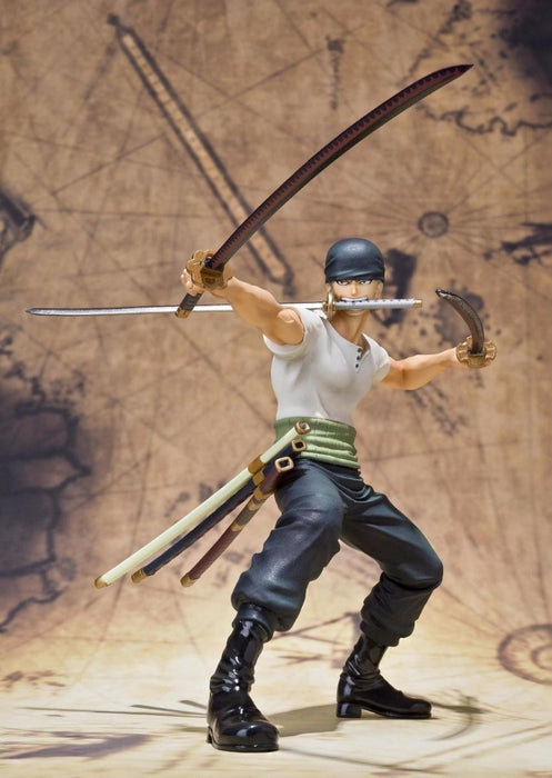 Figuarts ZERO One Piece RORONOA ZORO BATTLE Ver PVC Figure BANDAI from Japan_2