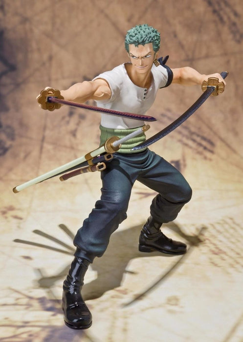 Figuarts ZERO One Piece RORONOA ZORO BATTLE Ver PVC Figure BANDAI from Japan_3