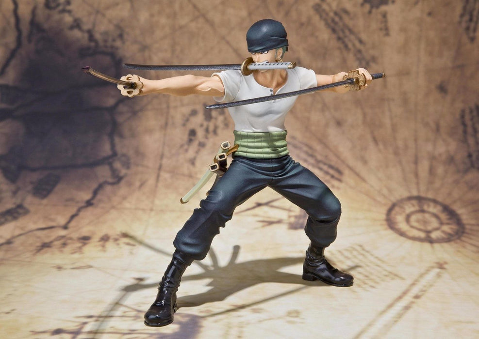 Figuarts ZERO One Piece RORONOA ZORO BATTLE Ver PVC Figure BANDAI from Japan_4