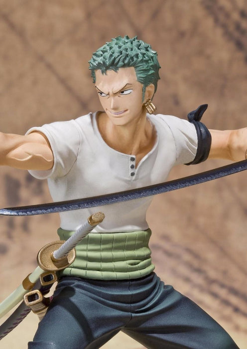 Figuarts ZERO One Piece RORONOA ZORO BATTLE Ver PVC Figure BANDAI from Japan_8
