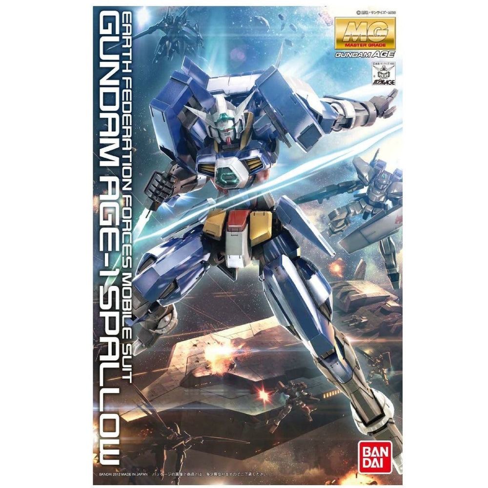 BANDAI MG 1/100 GUNDAM AGE-1 SPALLOW Plastic Model Kit Gundam AGE from Japan_1