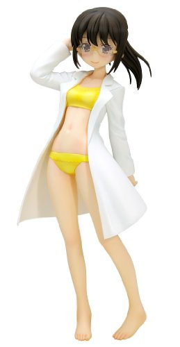 WAVE BEACH QUEENS Haganai Rika Shiguma 1/10 Scale Figure NEW from Japan_1