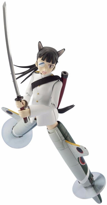 Armor Girls Project Strike Witches MIO SAKAMOTO Action Figure BANDAI from Japan_1