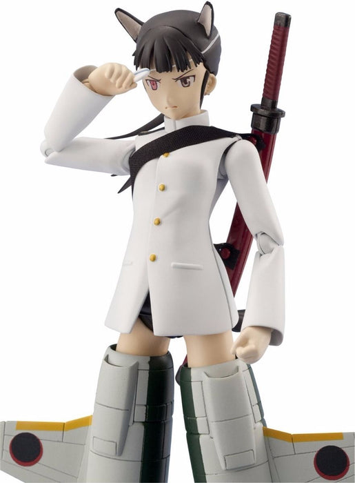 Armor Girls Project Strike Witches MIO SAKAMOTO Action Figure BANDAI from Japan_3