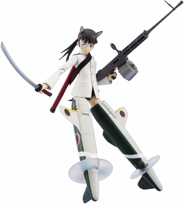 Armor Girls Project Strike Witches MIO SAKAMOTO Action Figure BANDAI from Japan_4
