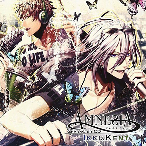 [CD] AMNESIA Character CD -Ikki & Kento Hen Kishou Taniyama... NEW from Japan_1