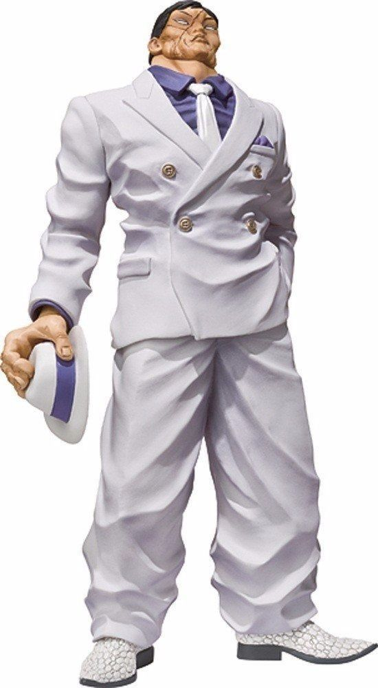 Figuarts ZERO Baki the Grappler KAORU HANAYAMA PVC Figure BANDAI from Japan_1