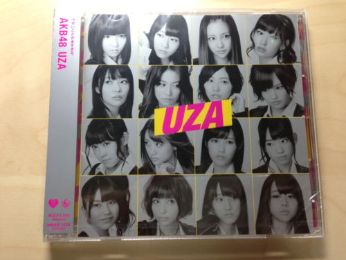 AKB48 CD 28th single UZA Theater Version_1