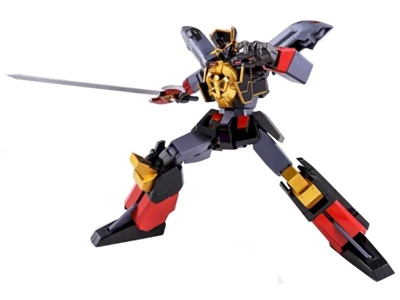 Super Robot Chogokin The Brave Express BLACK MIGHT GAINE Action Figure BANDAI_1