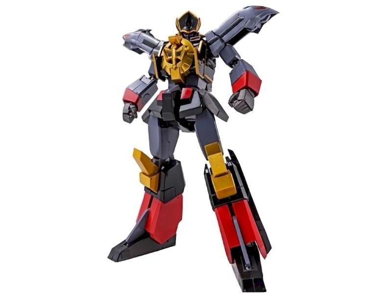 Super Robot Chogokin The Brave Express BLACK MIGHT GAINE Action Figure BANDAI_2